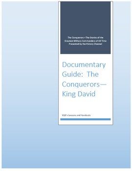 Documentary Guide--The Conquerors, Episode 10: King David