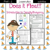 Does it float? Science Lesson Plan- physical science (water)