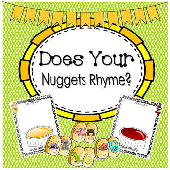 Phonemic Awareness-Rhyming - To Rhyme or Not to Rhyme? Tha