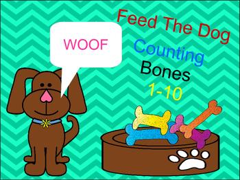 Dog  Bone Counting 1-10