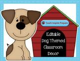 Dog Classroom Theme Decorations