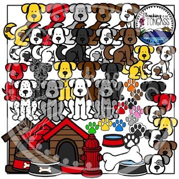 Dog Clipart Bundle