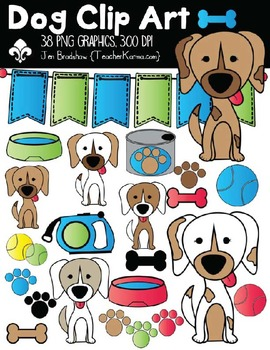 Dog Clipart ~ Commercial Use ~ Puppy
