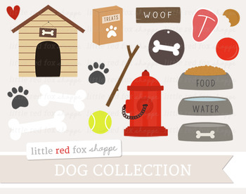 Dog Clipart; Pet, Puppy