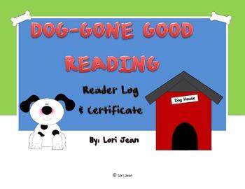 Dog-Gone Good Reading { Reader Log & Certificate}