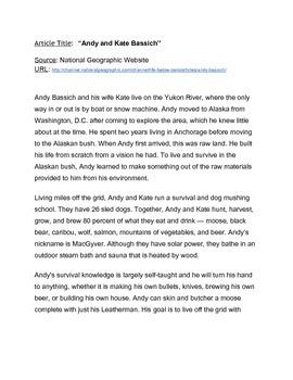 Dog Sledding/Alaska Article and Video Comparision