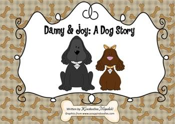 Dog Story with Printable Worksheets Pre-K and Kindergarten