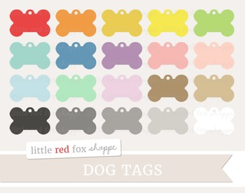 Dog Tag Clipart