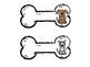 Dog Tags - Dog Bone Style