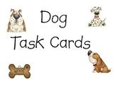 Dog Task Cards