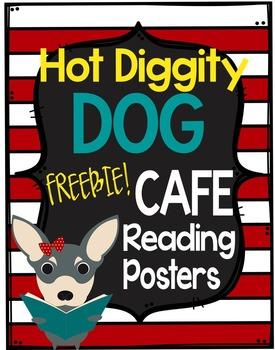 Dog Theme CAFE Posters ***Freebie***