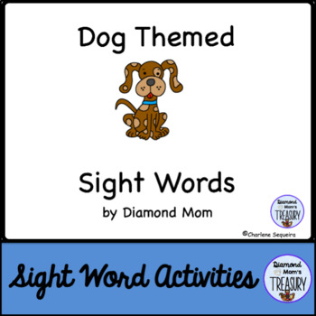 Dog Themed Dolch Sight Words