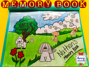 Memory Book Dog Themed