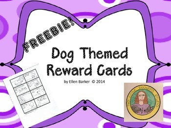 Dog Themed Reward Cards
