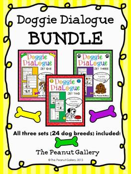 Doggie Dialogue Bundle (Sets One, Two & Three)