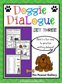 Doggie Dialogue (Set Three)