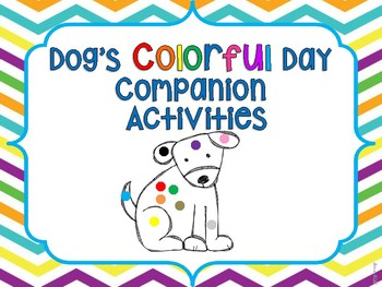 Dog's Colorful Day Companion Activities