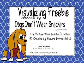 Visualizing Freebie inspired by Dogs Don't Wear Sneakers b