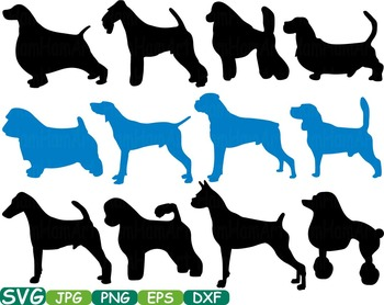 Dogs Silhouette Animals clip art DOG CONTEST puppy PET Paw