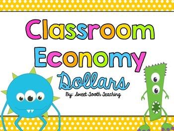 Classroom Economy Dollars