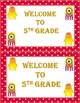 Dojo Monster Welcome to Fifth Grade Cards