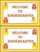 Dojo Monster Welcome to Kindergarten Postcards