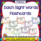 Sight Words - Dolch 220 Sight Words Flashcards