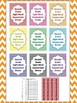 Dolch Chevron Second Grade Sight Word Assessment Tracking