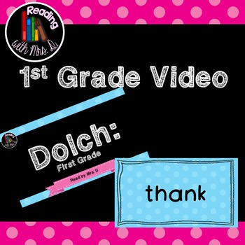 Dolch First Grade for Choral Repeat