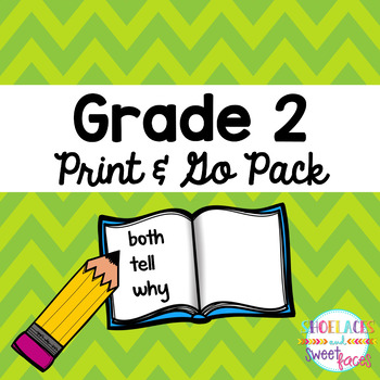 Dolch Sight Word Tool Grade 2 Print & Go Assessment and Pr