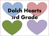 Dolch Hearts 3rd Grade
