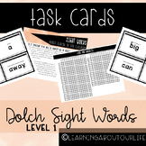Dolch Level One Sight Words