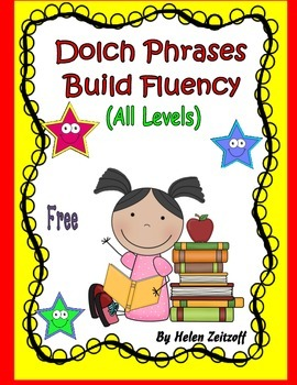 Dolch Phrases-- Build Fluency--- All Levels
