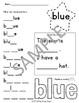 Pre-Primer Sight Word Activity Bundle Word Work Center or