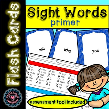 Sight Word Flashcards: Primer