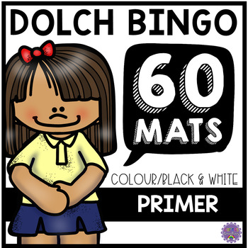 Dolch Primer Sight Word BINGO