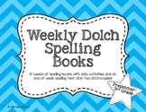 Dolch Sight Word Spelling Unit Books -  Preprimer to 3rd grade