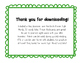 Dolch Sight Word Cards Set 2: Primer