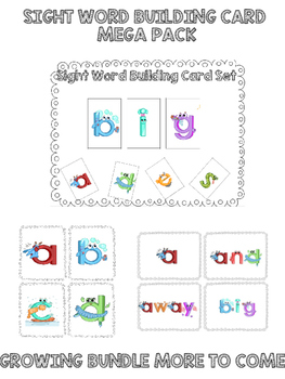Dolch Sight Word Mega Pack - Growing Bundle