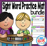 Sight Word Practice Mat: Dolch Bundle