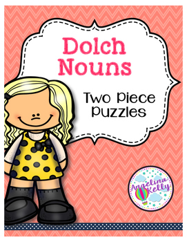 Dolch Sight Word Puzzles