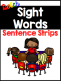 Dolch Sight Word Sentence Strips BUNDLE {219 sentences}