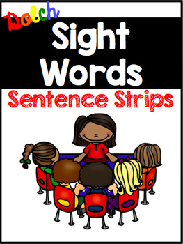 Dolch Sight Word Sentence Strips BUNDLE {219 sentences}
