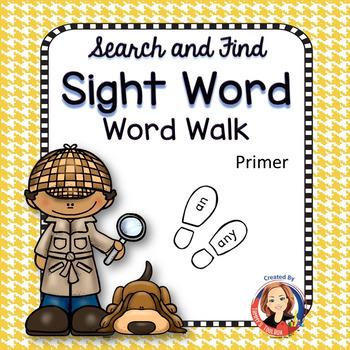 Dolch Sight Word Walk - Primer