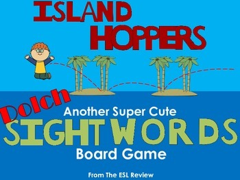 Dolch Sight Words Board Game - Island Hoppers