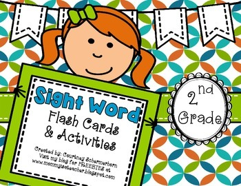 Dolch Sight-Words: Flash Cards & Activities/Centers/Statio