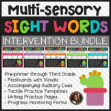 Dolch Sight Words Intervention Bundle (Pre-Primer through