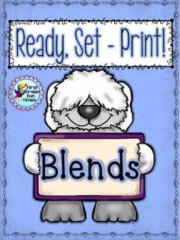 Blends Ready, Set, Print
