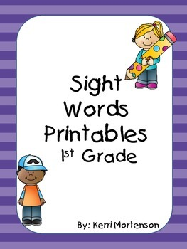 Dolch Sight Words Unit Grade 1