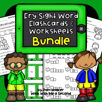"Dolch Sight Words on the ""iPad"" BUNDLE"